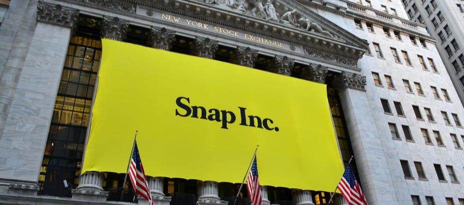 Aandeel Snapchat